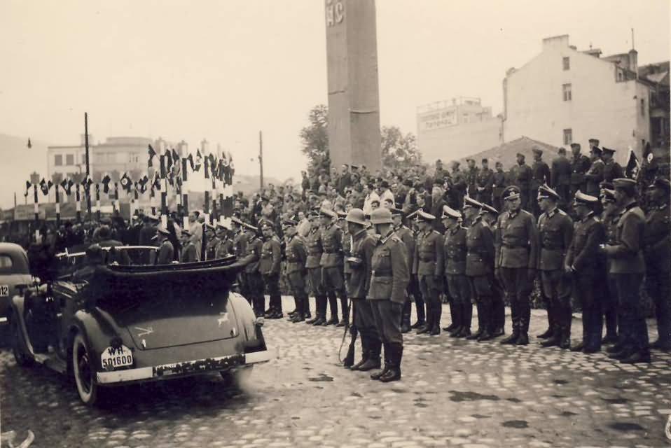 Wehrmacht Cabriolet car