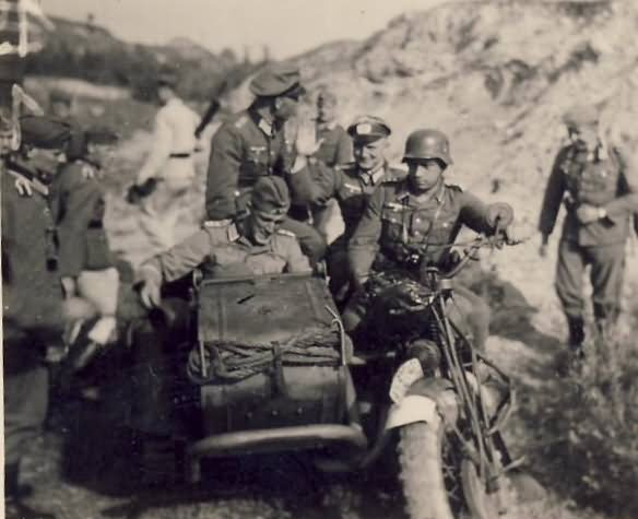 Wehrmacht soldiers in Russia 2