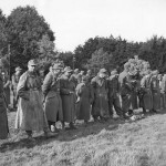First German Soldiers Captured in Battle for Aachen 1944