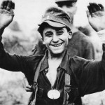 Smiling German Boy Soldier after His Capture in Caen 1944