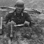 Wehrmacht soldier with handgranaten