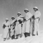 Wehrmacht soldiers Winter Camouflage Eastern Front