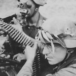 Wehrmacht troops MG 34 post with Zieloptik