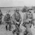 wehrmacht soldiers and Hiwi of Grenadier Regiment 460 Eastern Front
