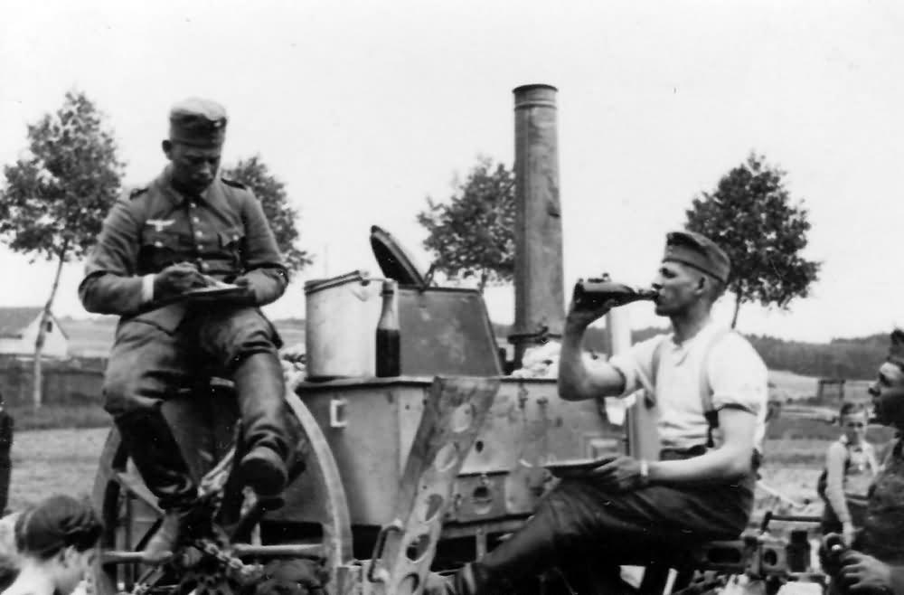 gulaschkanone wehrmacht field kitchen