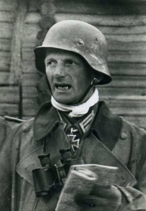 Knight's Cross Holder Major der Reserve Gustav Hippler (1903-1942)