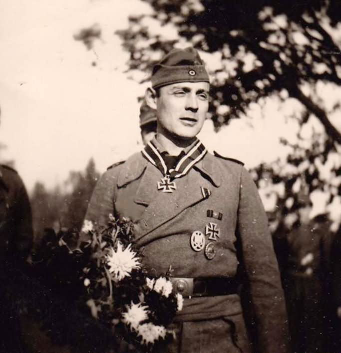 wehrmacht soldier awarded