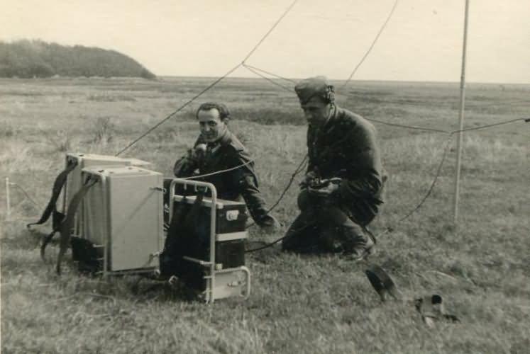 Wehrmacht radio squad