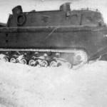 Early production LWS Landwasser Schlepper winter
