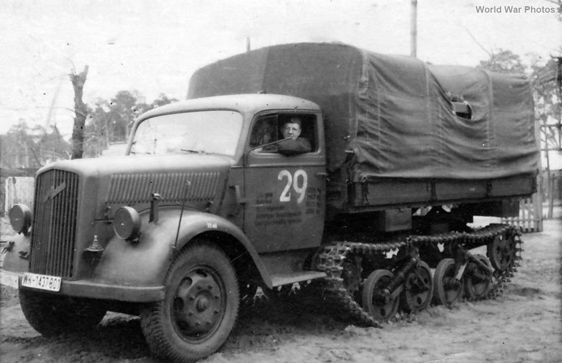 Opel Maultier WH-1437801 April 1943