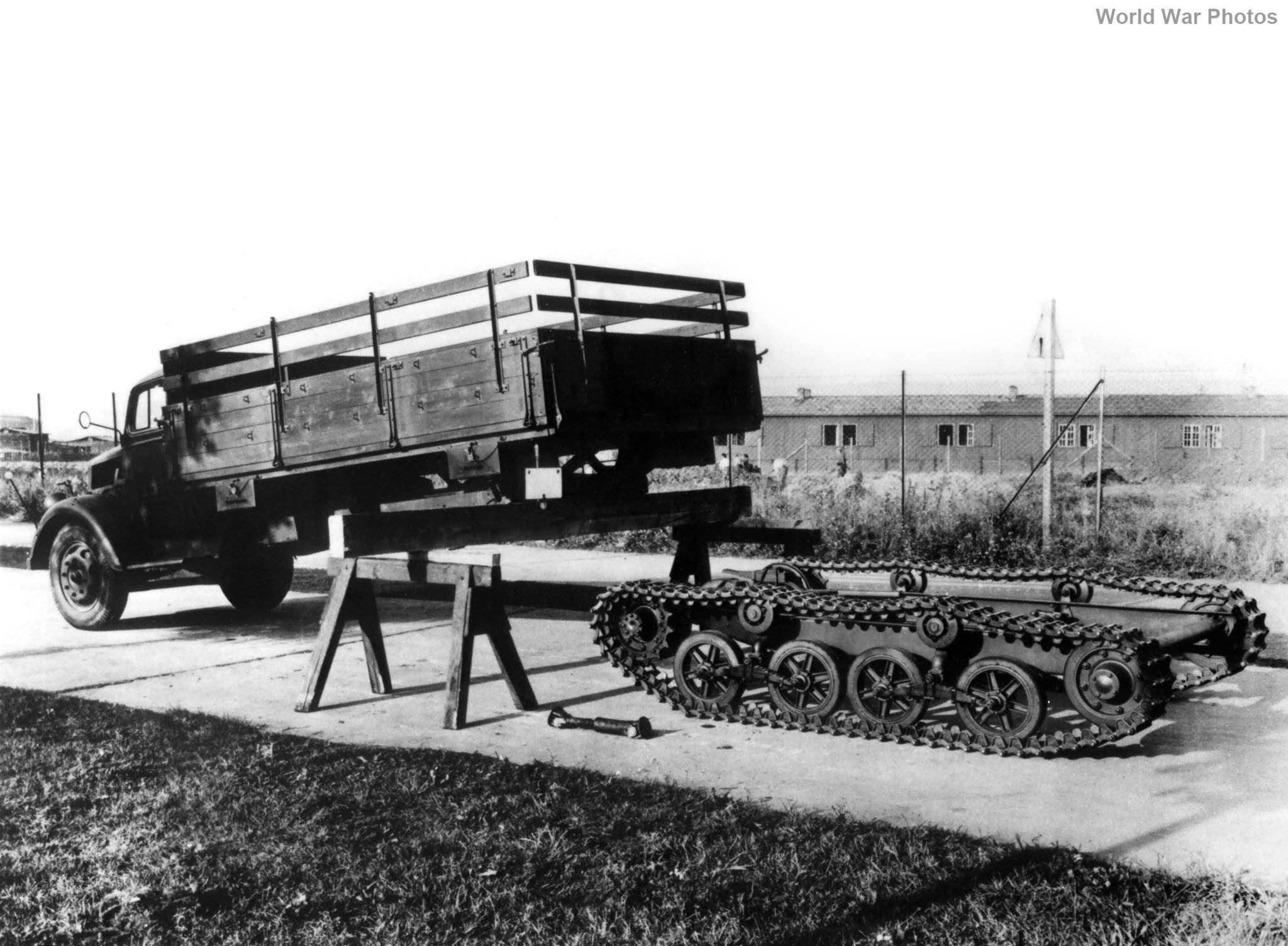Opel Maultier factory