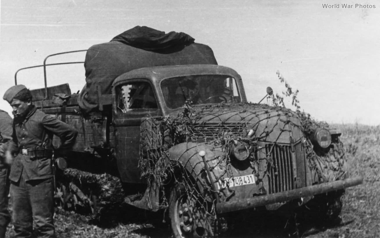Sd.Kfz. 3b Ford Maultier