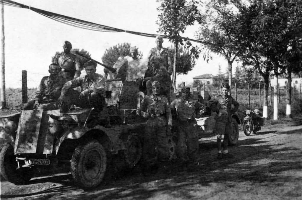 SdKfz 10/5 armoured cab