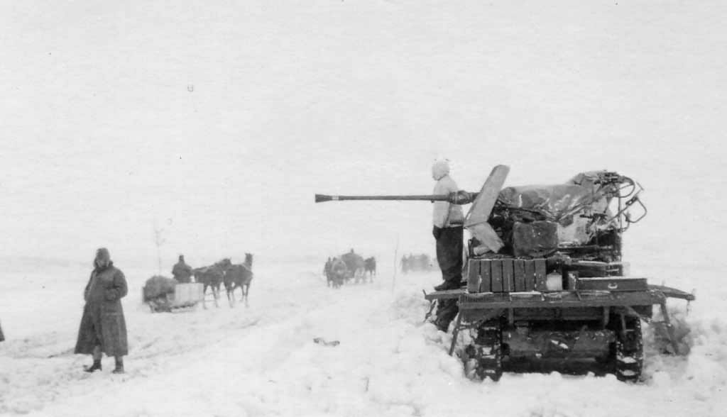 SdKfz 10/4 winter
