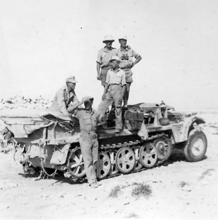 SdKfz 10 afrika korps