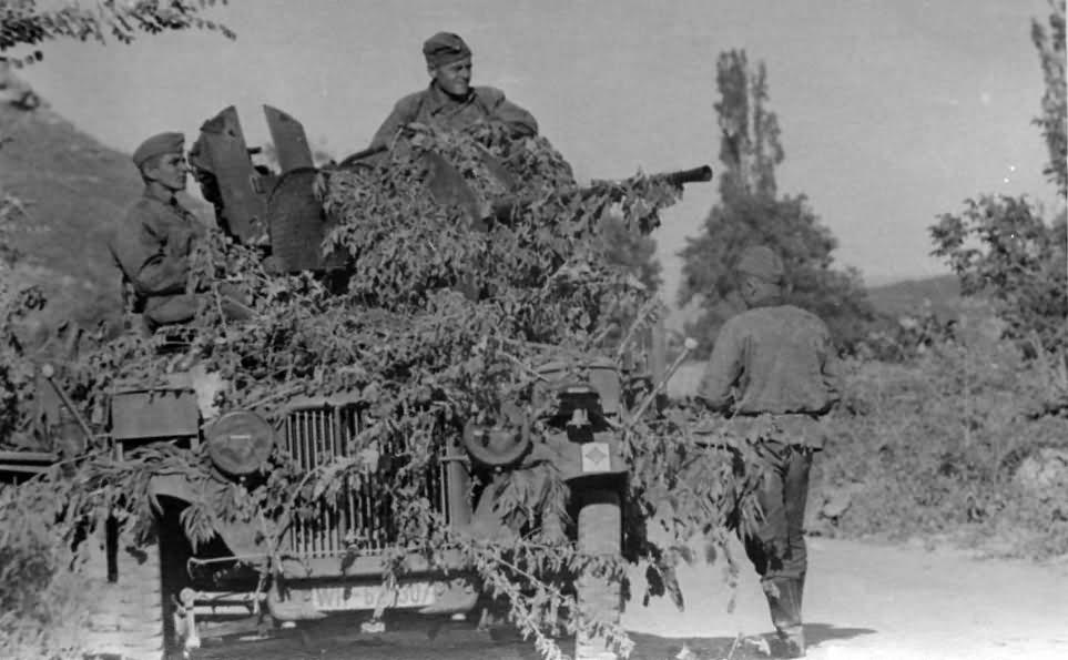 SdKfz 10/4 flak 20mm 7
