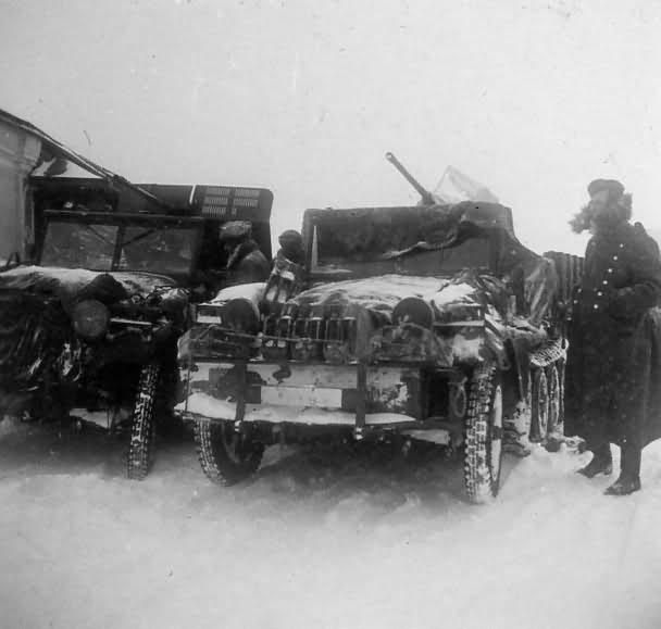 SdKfz 10 in winter