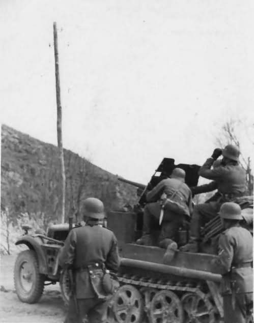 SdKfz 10 with 3,7 cm Pak 36