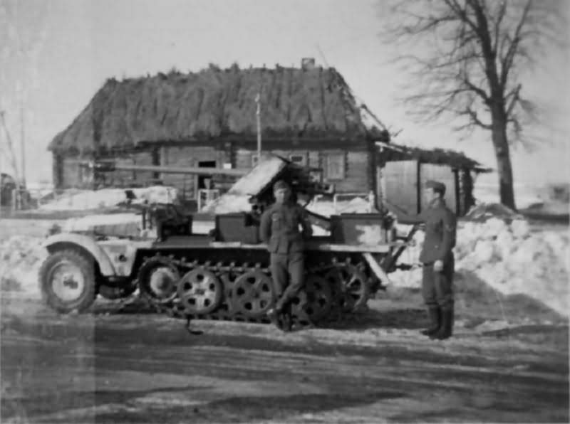 SdKfz 10 with 50 mm Pak 38