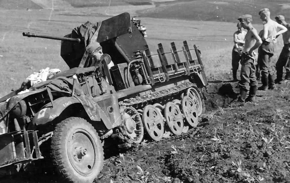 Sd Kfz 10 4 flak 30