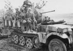 2cm FlaK auf Fahrgestell Zugkraftwagen 1t Sd.Kfz.10/4