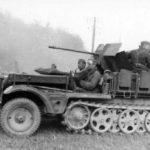 2cm Flak 30 auf Fahrgestell Zugkraftwagen 1t SdKfz 10/4