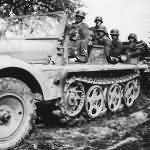 German half track SdKfz 10