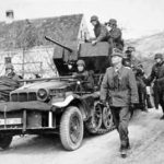 German self-propelled anti-aircraft gun SdKfz 10/4 WH 297069