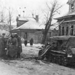 SdKfz 10 being refuelled – Eastern Front