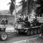 SdKfz 10 with Nebelwerfer 1944