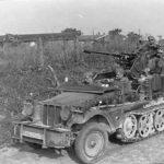 Self-propelled anti-aircraft gun SdKfz 10/4