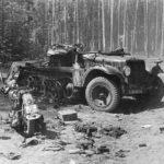destroyed SdKfz 10