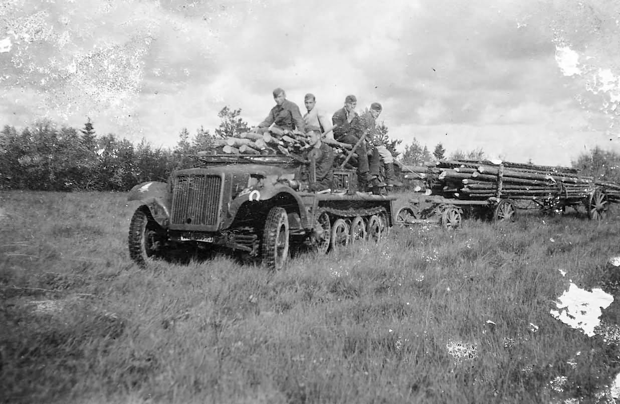 german halftrack SdKfz 10 20