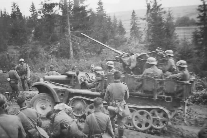 german ww2 half track Sd Kfz 10/4 photo