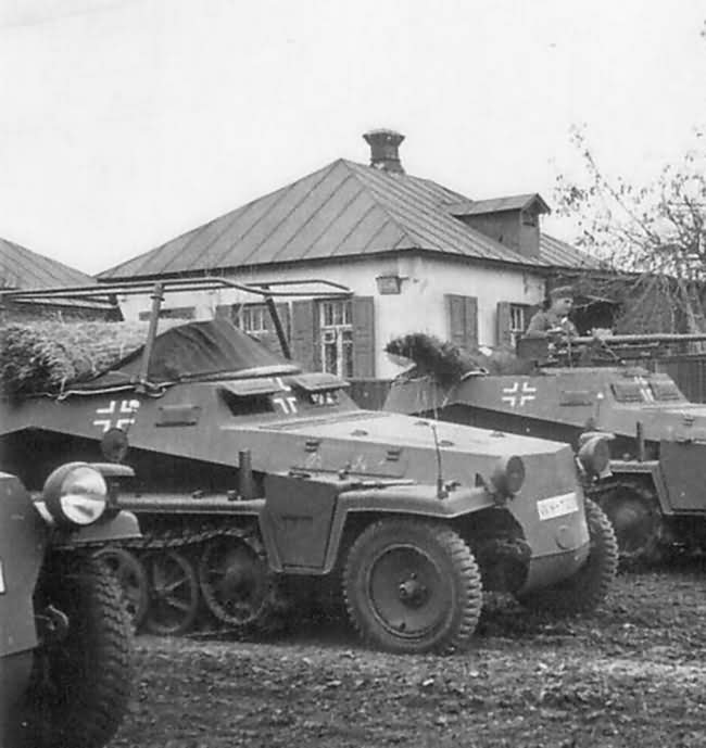 SdKfz 250/3 Ausf A alt
