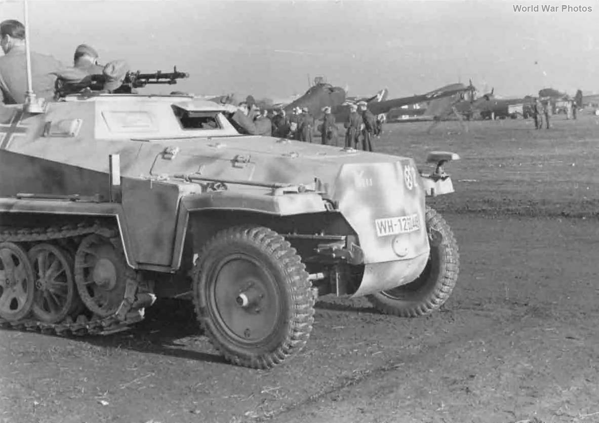 SdKfz 250 10 Panzer Division