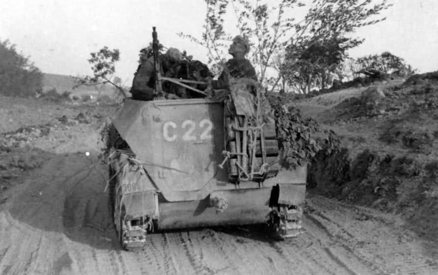 Armored halftrack SdKfz 250 code C22