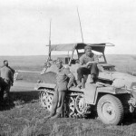 SdKfz 250/3 leichter Funkpanzerwagen – armoured radio vehicle a