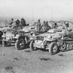 SdKfz 250/3 and SdKfz 251 of Afrika Korps