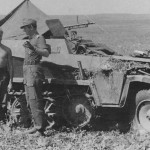 German Army SdKfz 250 Ausf A halftrack vehicle