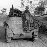 Armored halftrack SdKfz 250 code C22