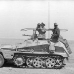 SdKfz 250 GREIF Erwin Rommel command vehicle