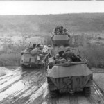 SdKfz 250 and SdKfz 251 armoured halftracks eastern front south 1942