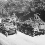SdKfz 250 neu and Schwimmwagen Italy 1944