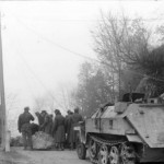 SdKfz 250 neu rear view Balkans 1943