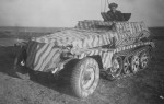 SdKfz 253 stripe camo