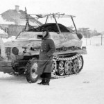Sd kfz 250/3 winter camo