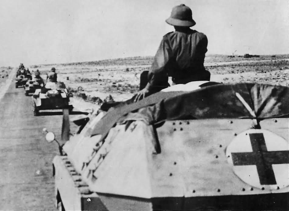 Deutsches Afrika Korps SdKfz 251/8 Ambulance in North Africa
