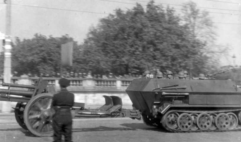 Hanomag Sd Kfz 251 Ausf B