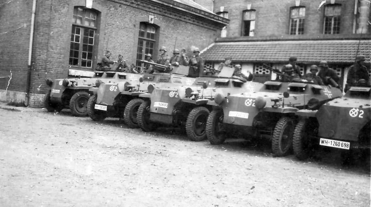 Hanomag Sd Kfz 251 halftracks